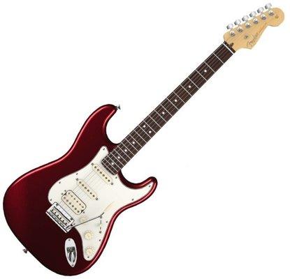 Fender American Standard Stratocaster HSS, RW, Bordeaux Metallic