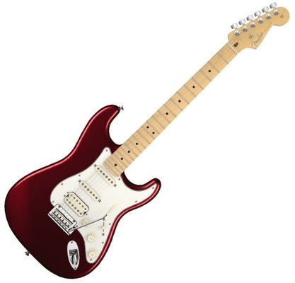 Fender American Standard Stratocaster HSS, Maple, Bordeaux Metallic