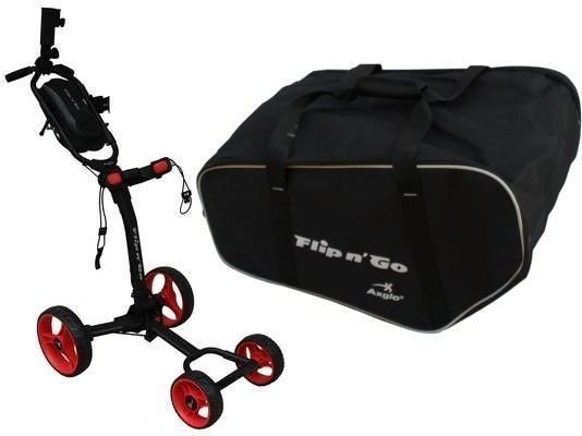 Axglo Flip N Go Trolley Black/Red SET