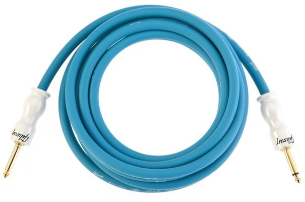 Gibson CAB12-BL Instrument Cable Blue