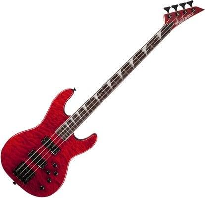Jackson JS3QM Concert Bass Transparent Red