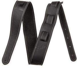 Fender Monogram Leather Strap Black