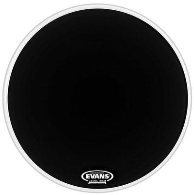 Evans 16'' EQ3 Resonant Black No Port
