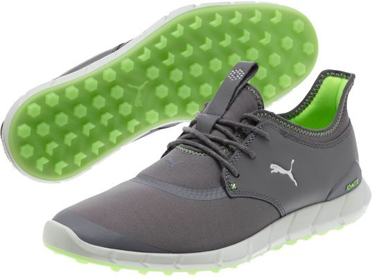 Puma Ignite Spikeless Sport Mens Golf Shoes Peacoat/Silver/White UK 10