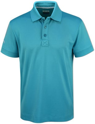 Callaway Stretch Solid Junior Polo Shirt Scuba Blue XL