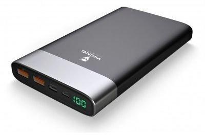 Viking Vixen QC3.0 20000 mAh Black