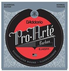 D'Addario EJ45FF Pro-Arte Carbon, Dynacore Basses, Normal Tension