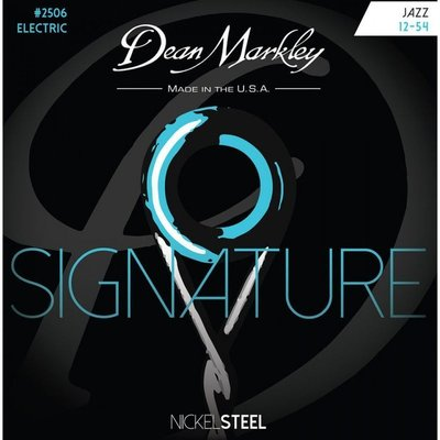 Dean Markley Nickel Steel Electric Guitar Strings Jazz 012 - 054