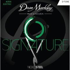 Dean Markley Nickel Steel Electric Guitar Strings Custom 009 - 046