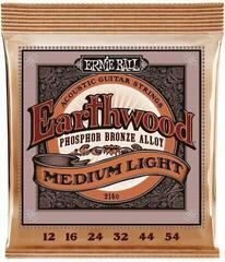 Ernie Ball 2146 Earthwood Medium Light Phosphor Bronze 12-54