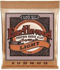 Ernie Ball 2148 Earthwood Light Phosphor Bronze 11-52