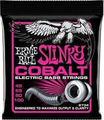 Ernie Ball 2734 Cobalt Super Slinky Bass 45-100