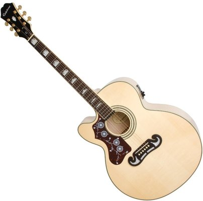 Epiphone EJ200CE Left Handed Natural
