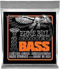 Ernie Ball 3833 Coated Bass Hybrid 45-105