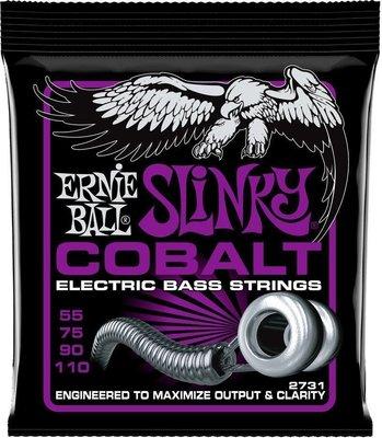 Ernie Ball 2731 Cobalt Power Slinky Bass 55-110
