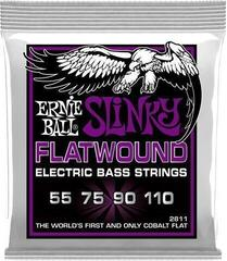 Ernie Ball 2811 Flatwound Cobalt Power Slinky