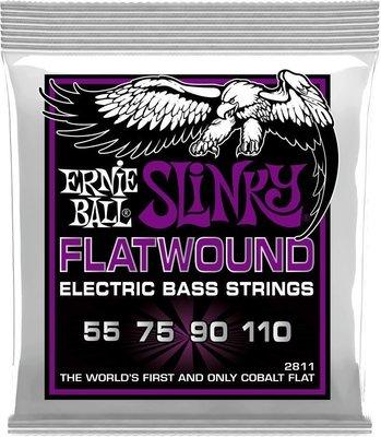 Ernie Ball 2811 Flatwound Cobalt Power Slinky