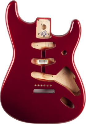 Fender Stratocaster Body (Vintage Bridge) - Candy Apple Red
