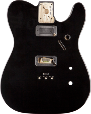 Fender Limited Carbonita Telecaster Body - Black