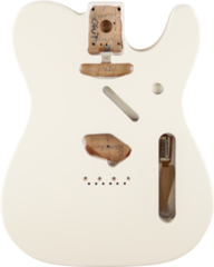 Fender Telecaster Body (Vintage Bridge) - Olympic White