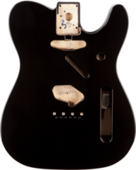Fender Telecaster Body (Vintage Bridge) - Black
