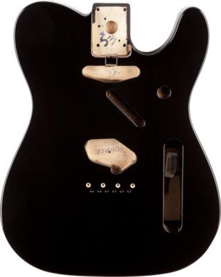 Fender Telecaster Body Vintage Bridge Black