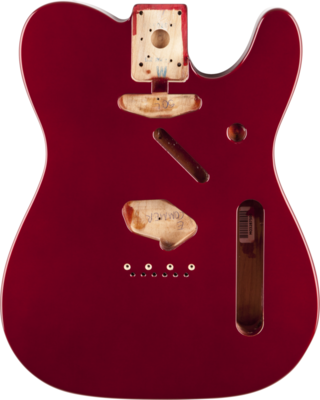 Fender Telecaster Body (Vintage Bridge) - Candy Apple Red