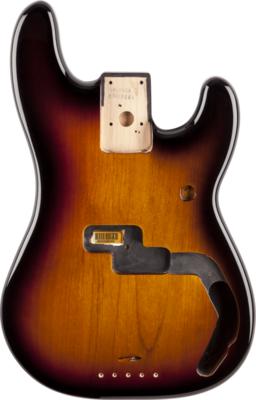 Fender Precision Bass Body (Vintage Bridge) - Brown Sunburst