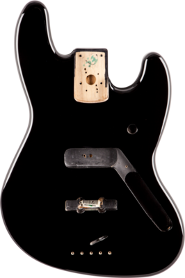Fender Jazz Bass Body (Vintage Bridge) - Black