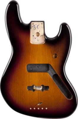 Fender Jazz Bass Body (Vintage Bridge) - Brown Sunburst