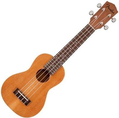 Fender Piha'ea Soprano Ukulele Natural