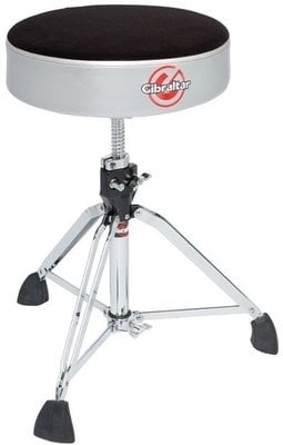 Gibraltar 9608RSG Double Braced Drum Throne Satin Grey