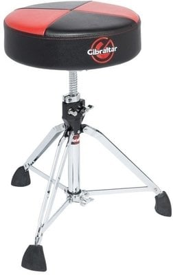 Gibraltar 9608RQPRB Double Braced Drumm Throne Red-Black