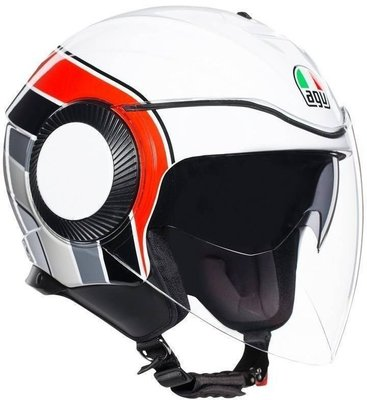 AGV Orbyt Multi Brera White/Grey/Red S