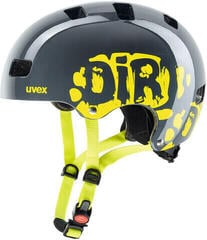 UVEX Kid 3 Dirtbike Grey/Lime 55-58