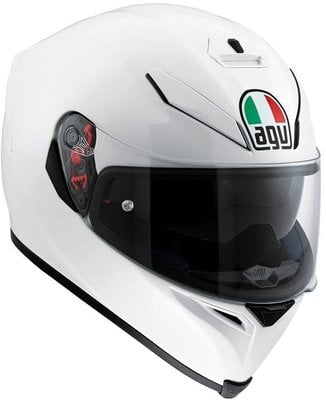AGV K-5 S Solid Pearl White ML