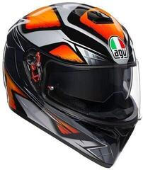 AGV K-3 SV Liquefy Black/Orange