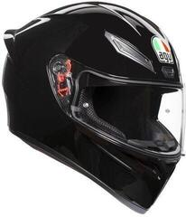 AGV K1 Solid Black