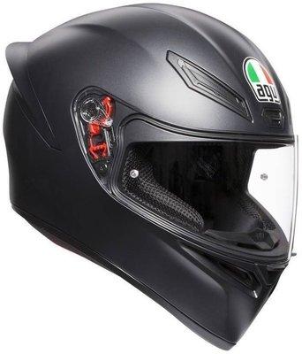 AGV K1 Solid Matt Black XL