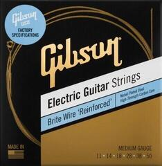 Gibson Brite Wire Reinforced Electic Guitar Strings Medium