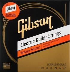 Gibson Vintage Reissue Electric Guitar Strings Ultra Light