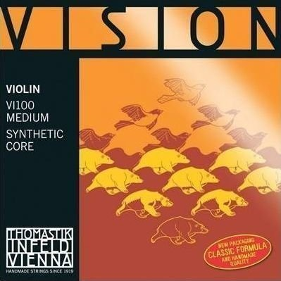 Thomastik VI100 Vision Violin String Set 1/2