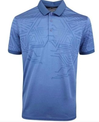 Galvin Green Merell Ventil8 Mens Polo Shirt Ensign Blue S
