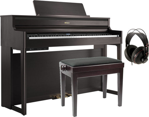 Roland HP 704 Dark Rosewood SET