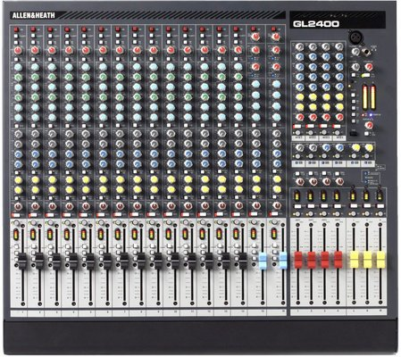 Allen & Heath GL2400-416 16-channel Dual Function Mixer
