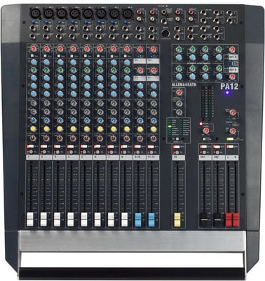 Allen & Heath PA12 12-Channel Stereo Mixer