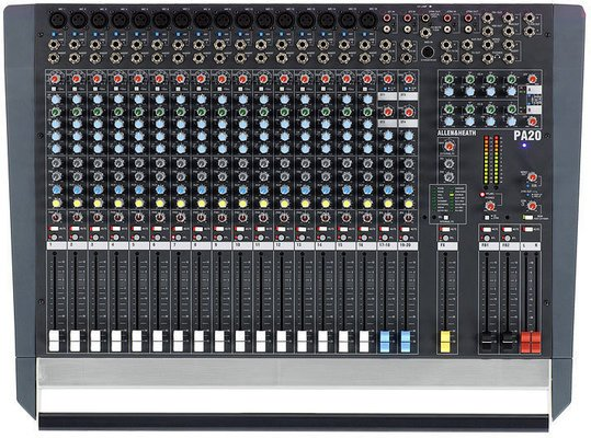 Allen & Heath PA20 20-Channel Stereo Mixer