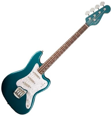 Fender Classic Player Rascal Bass, RW, Ocean Turquoise