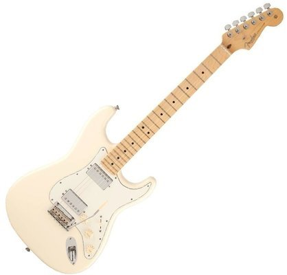 Fender American Standard Stratocaster HH, Maple, Olympic White