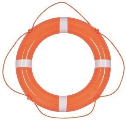 Talamex Lifebuoys PVC Orange/White